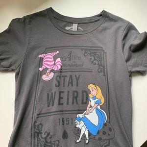 """Alice in Wonderland """"Stay Weird""""• Disney Cheshire"""